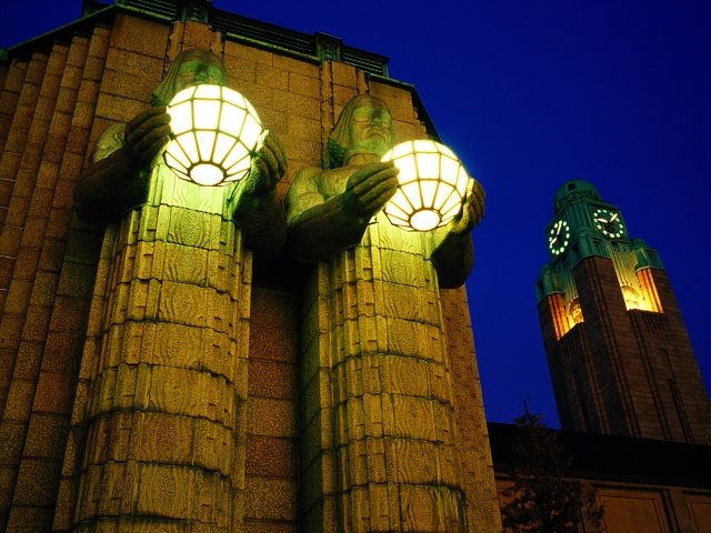 The Central Train Station in Helsinki, Finland. Finland tours – Hit The Road Travel