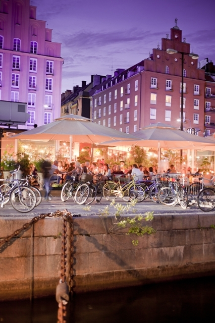 Night life in Stockholm