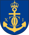 the coat of arms of Karlskrona