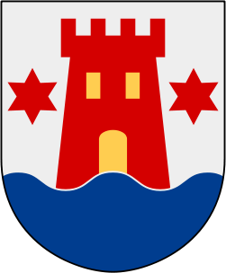 the coat of arms of Kalmar