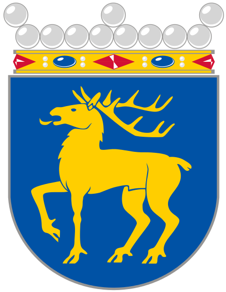 the coat of arms of Åland Islands