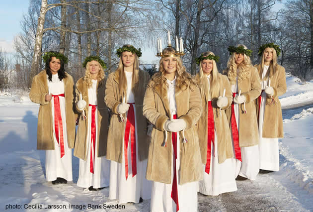 Saint Lucia's Day in Sweden