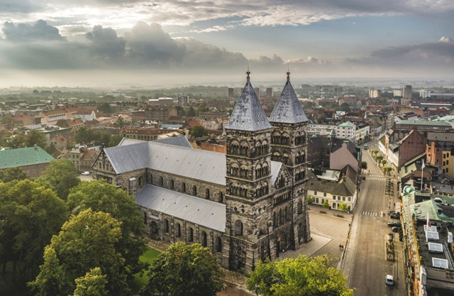 Lund Cathedral. Cruise to Scandinavia – Hit The Road Travel