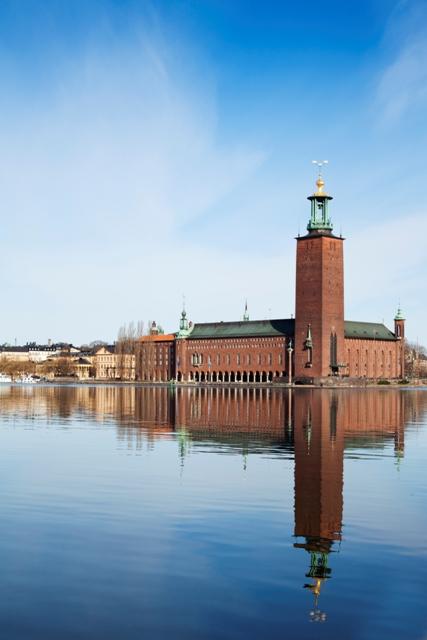 Ratusz wSztokholmie. Wycieczka doSztokholmu, wyjazdy firmowe doSztokholmu – Hit The Road Travel