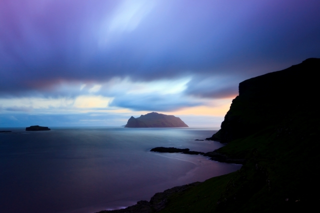 Wyspa Mykines fiord Mykinesfjordur, wyspa Vagar, Wyspy Owcze. Wycieczka naWyspy Owcze – Hit The Road Travel
