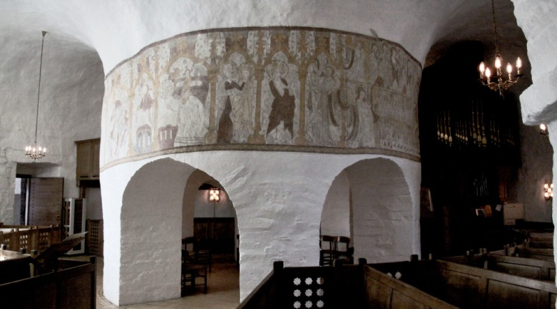 Østerlars round church, Bornholm, Denmark. Bornholm tours – Hit The Road Travel