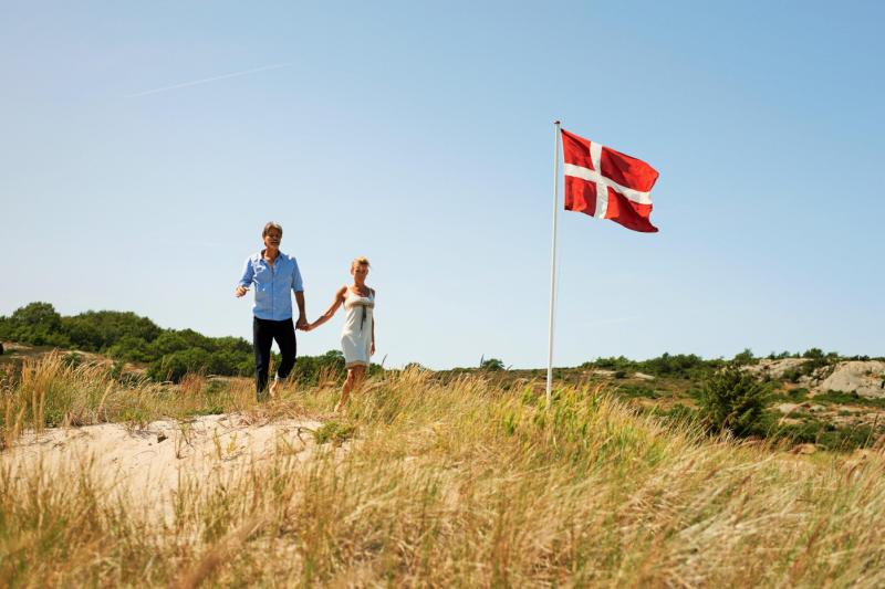 Dueodde beach, Bornholm, Denmark. Bornholm tours – Hit The Road Travel