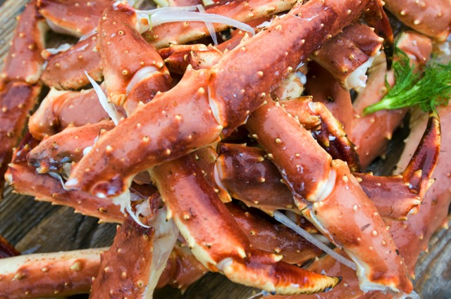 King crab dishes. North Cape tours, trips to Norway – Hit The Road Travel