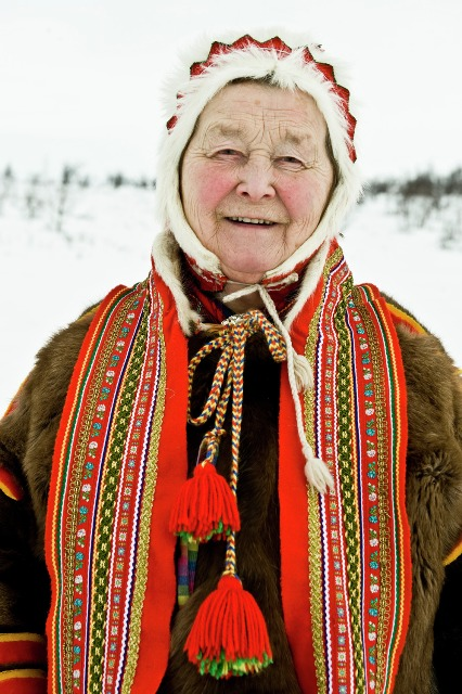 Sami woman, Norway. Northern lights tours, winter trips to Norway – Hit The Road Travel