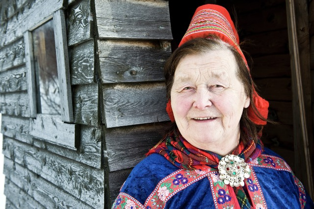 Sami woman, Karasjok, Norway. North Cape tours, trips to Norway – Hit The Road Travel