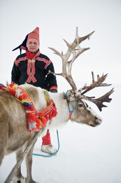 In Sami village. Northern lights tours, winter trips to Norway – Hit The Road Travel