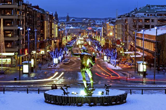 Avenyn, Gothenburg, Sweden. Trip to Gothenburg, conference in Gothenburg – Hit The Road Travel