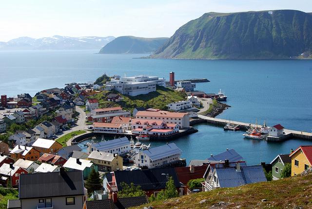 Honningsvåg, wyspa Magerøya, Norwegia. Wycieczka naNordkapp, Norwegia wycieczki – Hit The Road Travel