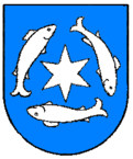 a coat of arms of Marstrand