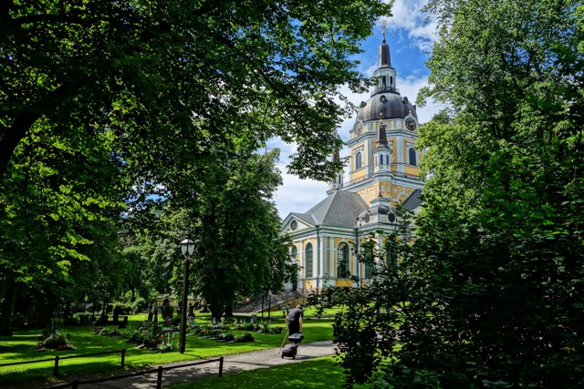 Catherine Church, Stockholm, Sweden. Stockholm tours, group tour packages to Stockholm – Hit The Road Travel