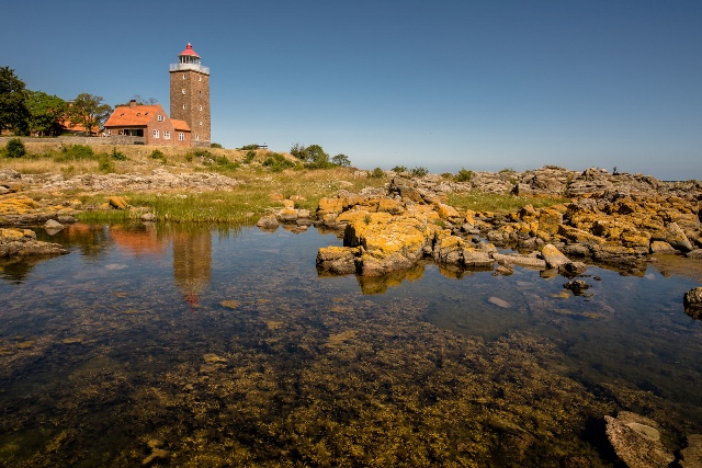 Lighthouse in Svaneke. Bornholm tours – Hit The Road Travel