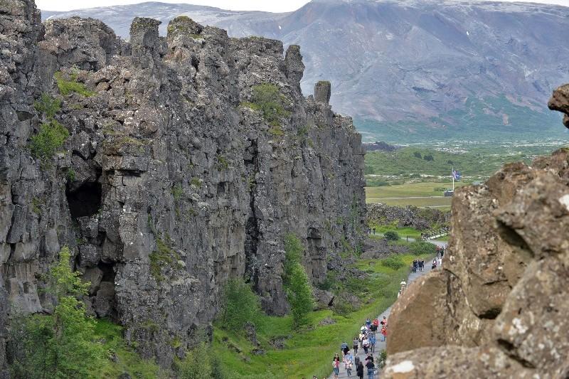 Almannagjá gorge, Iceland. Iceland tours, trips to Iceland, Iceland travel – Hit The Road Travel