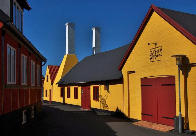 Gudhjem Røgeri smokehouse, Bornholm, Denmark. Bornholm tours – Hit The Road Travel
