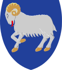 the coat of arms of Faroe Islands