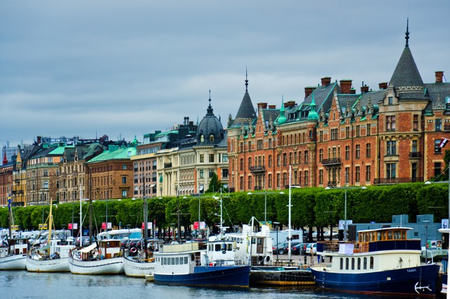 Östermalm, Strandvägen, Stockholm, Sweden. Stockholm tours, group tour packages to Stockholm – Hit The Road Travel