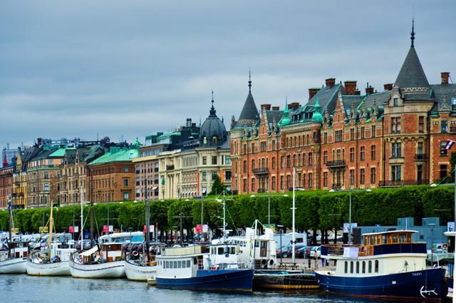 Östermalm, Strandvägen, Sztokholm. Wycieczka doSztokholmu, wyjazdy firmowe doSztokholmu – Hit The Road Travel