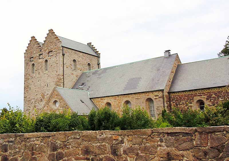 Aa church, Bornholm, Denmark. Bornholm tours – Hit The Road Travel