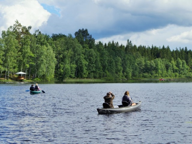 Canoe trip. Fishing expeditions to Sweden, fishing trips to Sweden – Hit The Road Travel