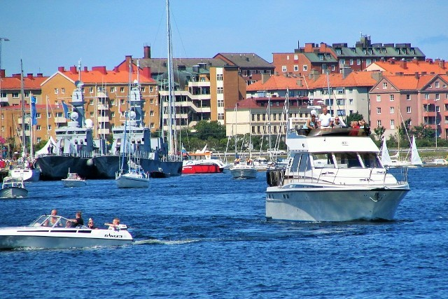 Invisible, Swedish corvettes in Karlskrona, Sweden. Cold War tour, military tours to Sweden – Hit The Road Travel