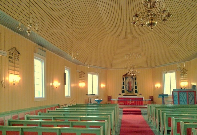 Kautokeino church, Norway. North Cape tours, trips to Norway – Hit The Road Travel