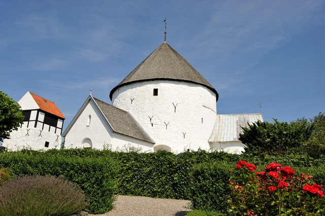 Nylars round church, Bornholm, Denmark. Bornholm tours – Hit The Road Travel