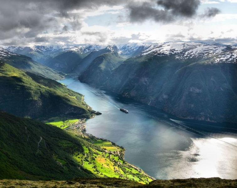 Aurlandsfjord, Norway. Norway tours – Hit The Road Travel