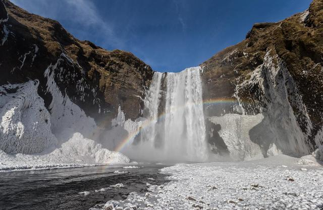 Skógafoss Waterfall, Iceland. Iceland tours, trips to Iceland, Iceland travel – Hit The Road Travel