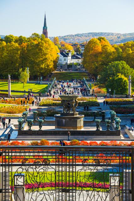 The Vigeland Park, Oslo. Oslo tours, group trips to Oslo, conferences in Oslo – Hit The Road Travel