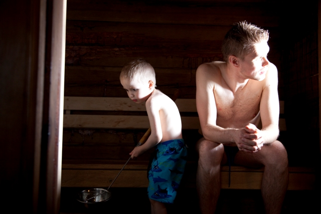 Sauna, Finland. Santa Claus trips, Rovaniemi tours