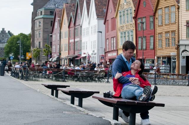 Bryggen, Bergen, Norwegia. Wycieczka doNorwegii, Hit The Road Travel