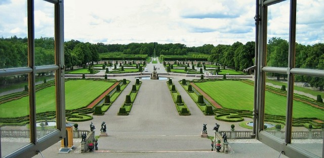 Drottningholm garden, Sweden. Trip to Stockholm in the footsteps of ABBA, music tours