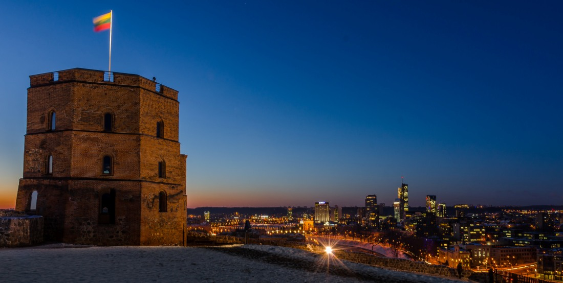 Gediminas' Tower, Vilnius, Lithuania. Tours of the Baltic States, Helsinki tours – Hit The Road Travel
