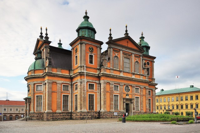 Kalmar Cathedral. Weekend trip to Sweden, Sweden tours