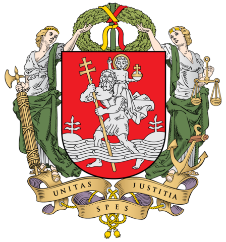 the coat of arms of Vilnius