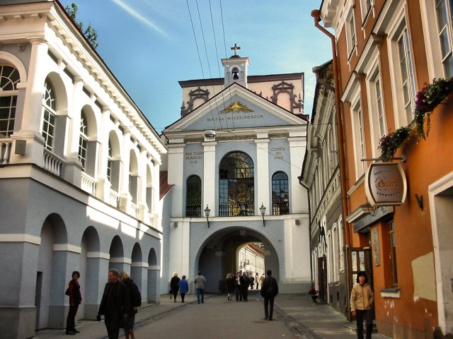 Gate of Dawn, Vilnius, Lithuania. Tours of the Baltic States, Helsinki tours – Hit The Road Travel