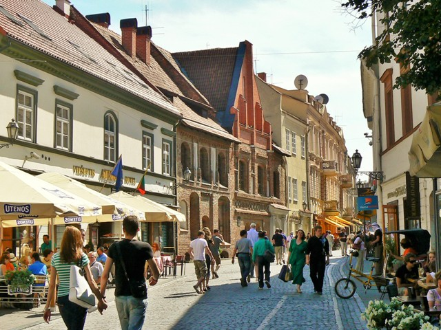 The Old Town in Vilnius, Lithuania. Tours of the Baltic States, Helsinki tours – Hit The Road Travel