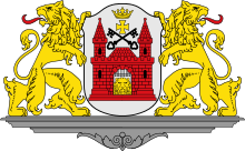 the coat of arms of Riga