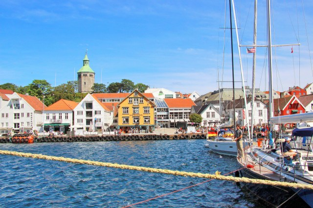 Stavanger Old Town, Norway. Tour of Norway, fjord tours – Hit The Road Travel