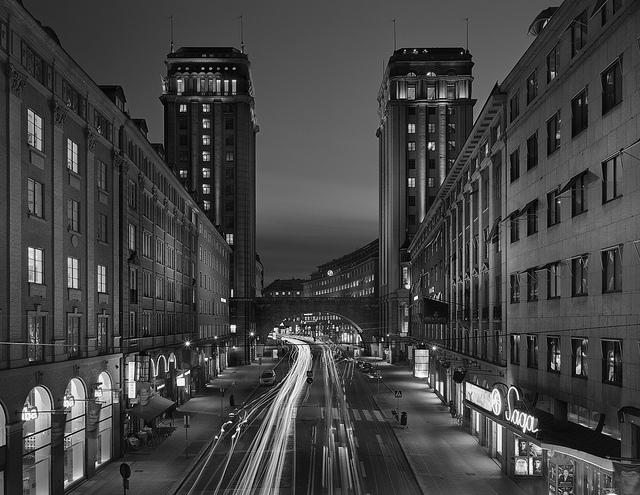 Kungsgatan, Sztokholm. Zwiedzanie Sztokholmu śladami zespołu ABBA