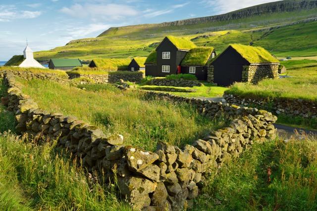 Sandoy Island, Húsavík village, Faroe Island. Faroe Islands tours, travel to Faroe Islands – Hit The Road Travel