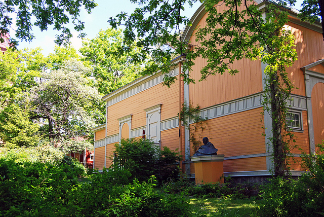 Julius Kronberg's atelier, Skansen, Stockholm. Trip to Stockholm in the footsteps of ABBA, music tours