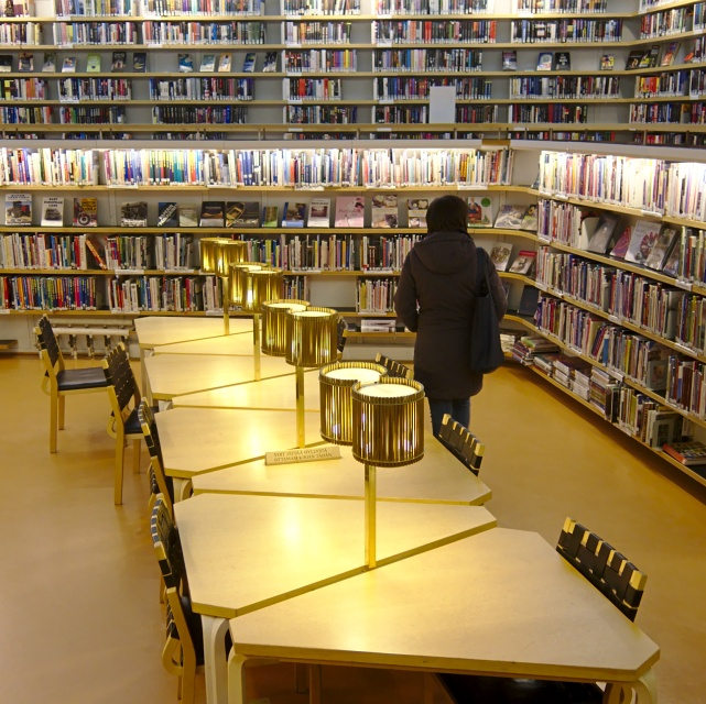 The library in Rovaniemi designed by Alvar Aalto, Finland. Tours of the Baltic States, Helsinki tours – Hit The Road Travel
