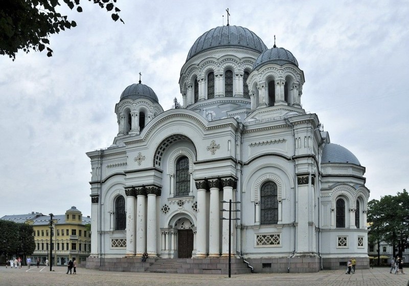 St. Michael the Archangel Church, Kaunas, Lithuania. Tours of the Baltic States, Helsinki tours – Hit The Road Travel