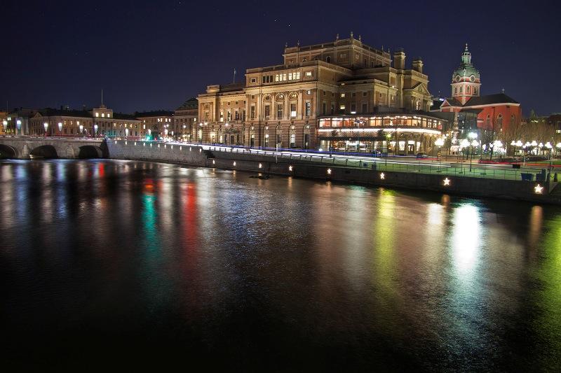 Opera, Sztokholm. Zwiedzanie Sztokholmu śladami zespołu ABBA
