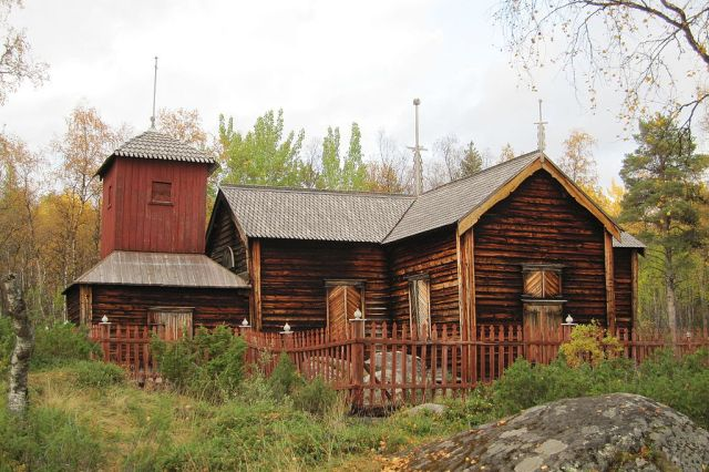 Pielpajärvi church, Finland. Trips to Lapland, tours of Finnish Lapland – Hit The Road Travel